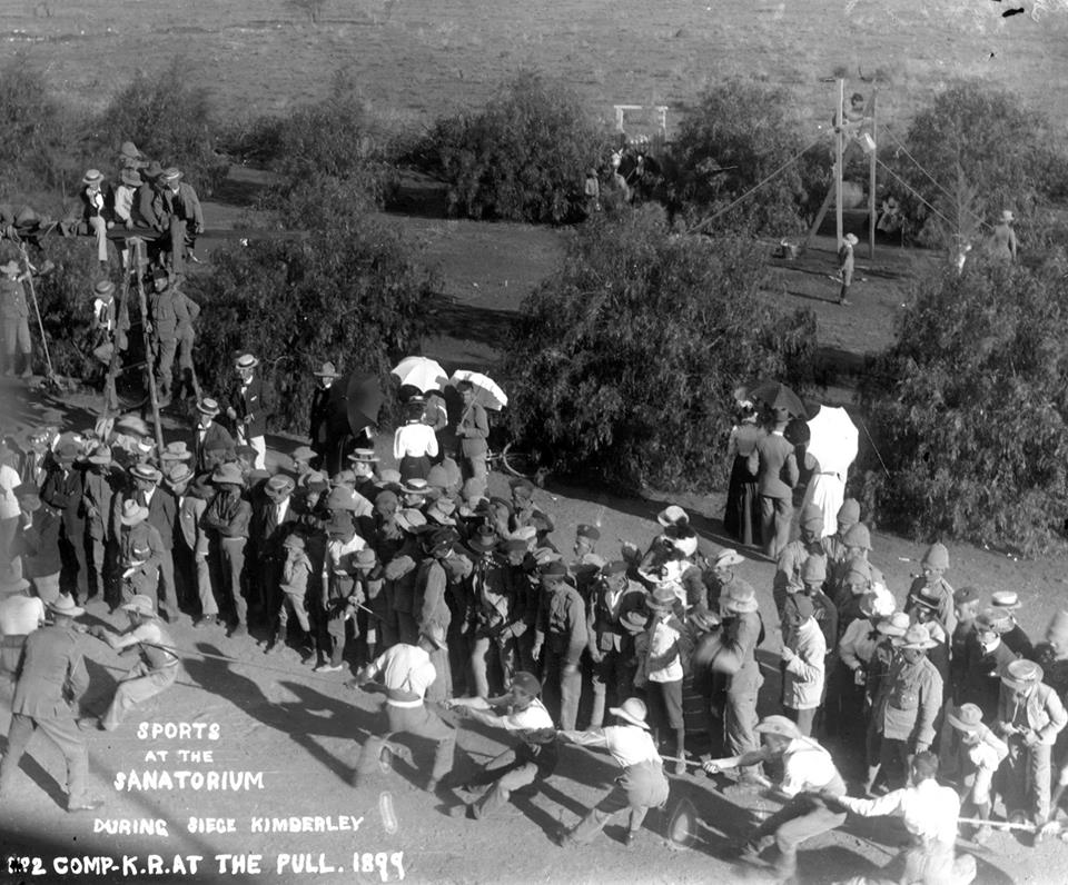 Kimberley Regiment at the Kimberley Sanatorium during a sports day during the siege