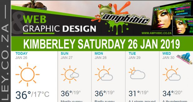 Today in Kimberley South Africa - Weather News Events 2019/01/26