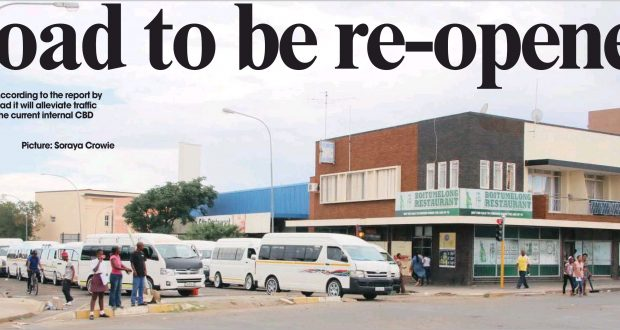 BULTFONTEIN Road will be rehabilitated and re-opened for all light traffic - 4 Feb 2016 Diamond Fields Advertiser