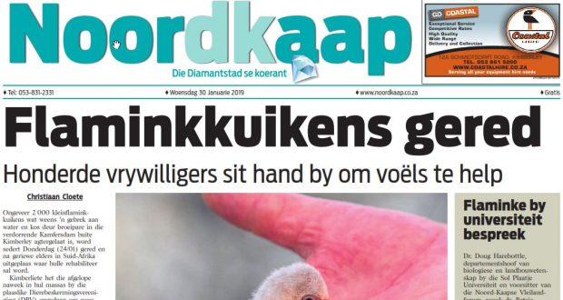 Die Noordkaap Koerant 30 January 2019 Voorblad