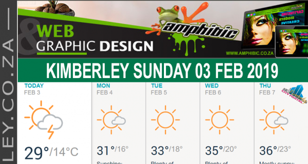 Today in Kimberley South Africa - Weather News Events 2019/02/03