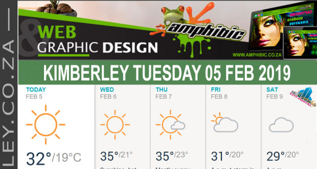 Today in Kimberley South Africa - Weather News Events 2019/02/05