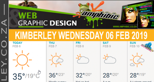 Today in Kimberley South Africa - Weather News Events 2019/02/06