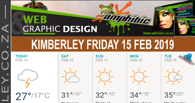 Today in Kimberley South Africa - Weather News Events 2019/02/15