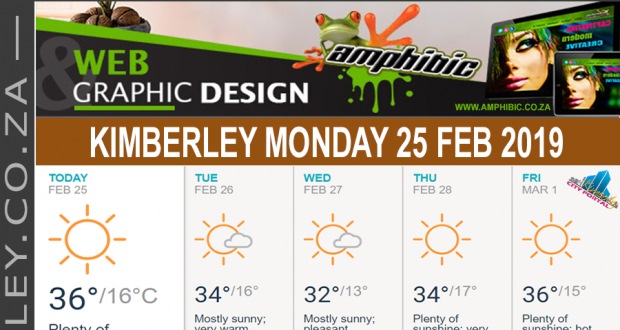 Today in Kimberley South Africa - Weather News Events 2019/02/25