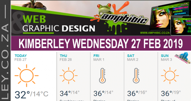 Today in Kimberley South Africa - Weather News Events 2019/02/27