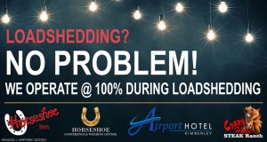 The Horseshoe Inn, Crazy Horse Steak Ranch, Airport Hotel & Horseshoe Conference Centre are OPEN During Loadshedding