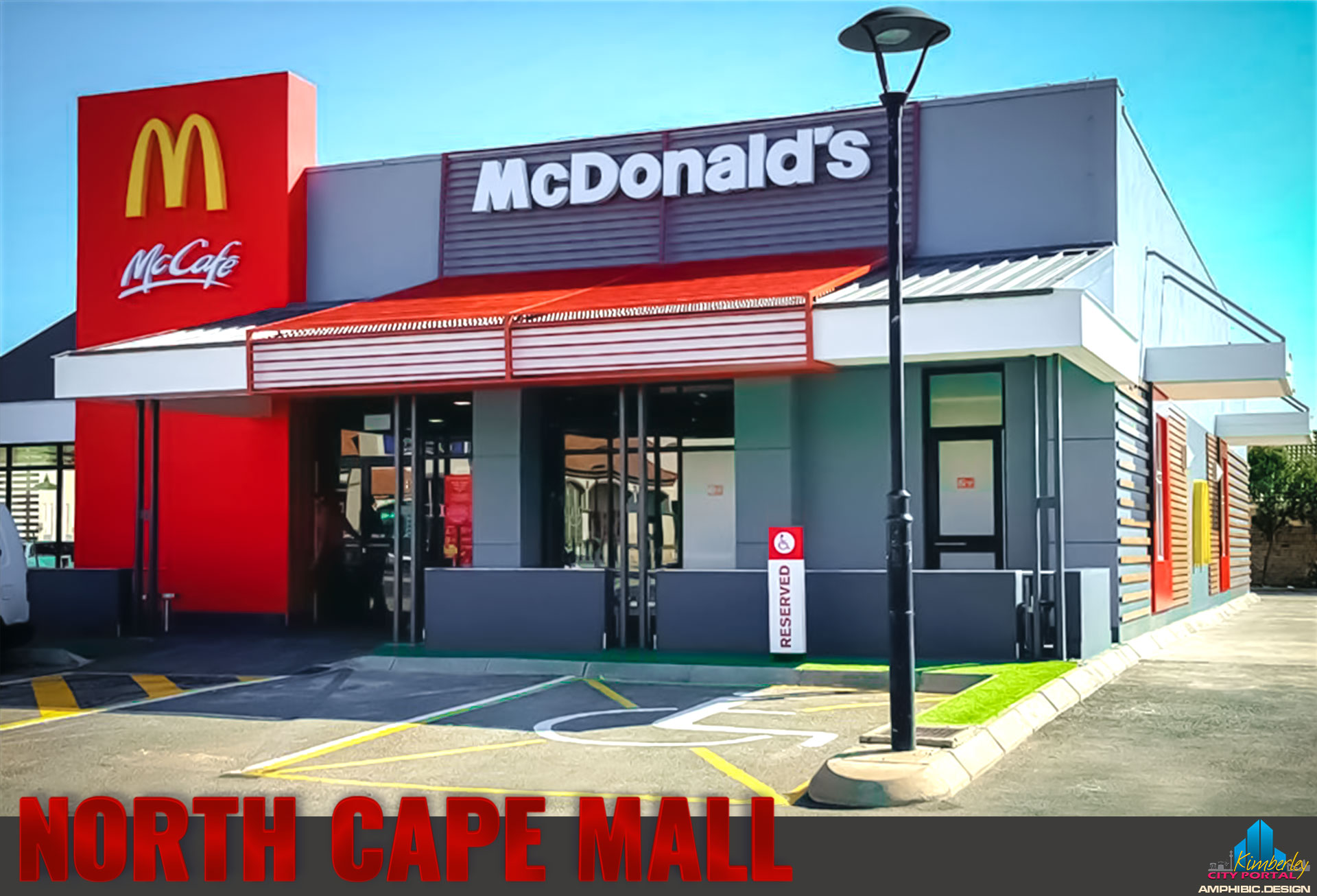 McDonalds at the North Cape Mall in Kimberley