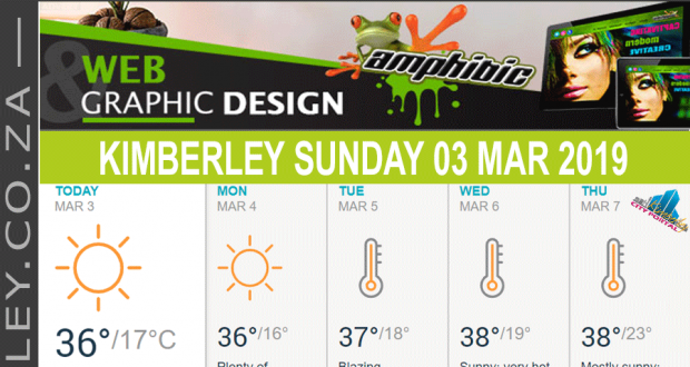 Today in Kimberley South Africa - Weather News Events 2019/03/03