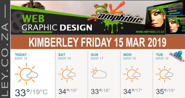 Today in Kimberley South Africa - Weather News Events 2019/03/15