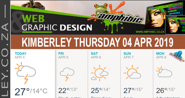 Today in Kimberley South Africa - Weather News Events 2019/04/04
