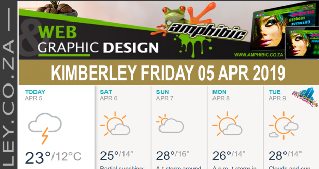 Today in Kimberley South Africa - Weather News Events 2019/04/05