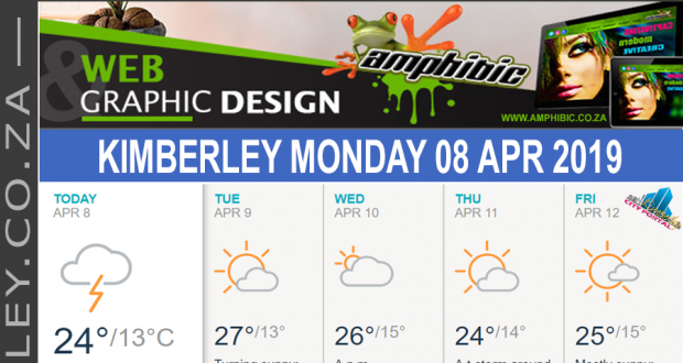 Today in Kimberley South Africa - Weather News Events 2019/04/08