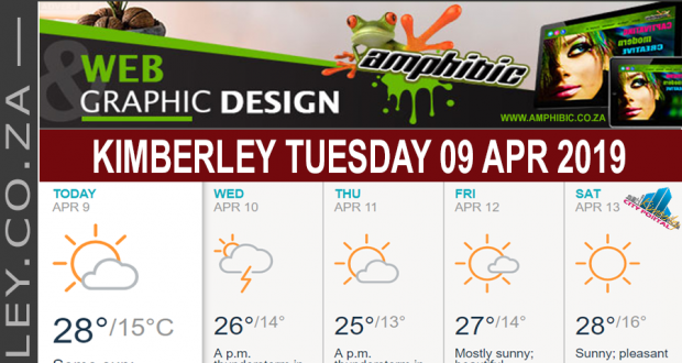Today in Kimberley South Africa - Weather News Events 2019/04/09