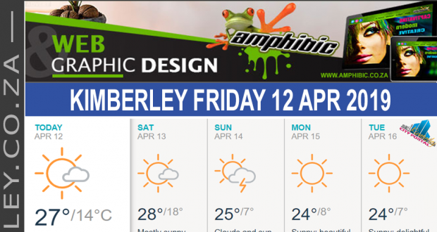 Today in Kimberley South Africa - Weather News Events 2019/04/12