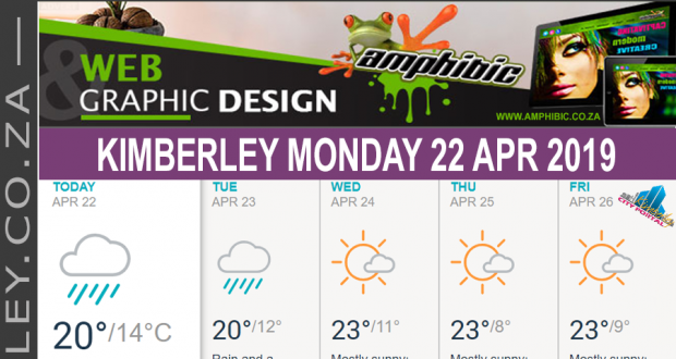 Today in Kimberley South Africa - Weather News Events 2019/04/22
