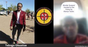 LEFT: Tebogo Obusitse of Operation Wanya Tsotsi