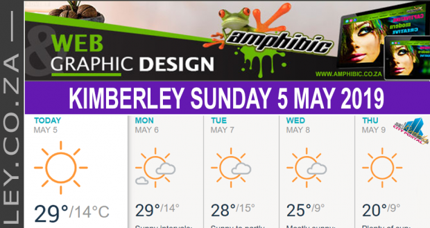 Today in Kimberley South Africa - Weather News Events 2019/05/05
