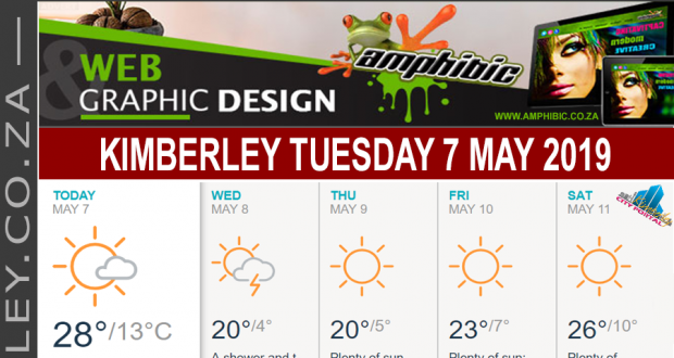 Today in Kimberley South Africa - Weather News Events 2019/05/07