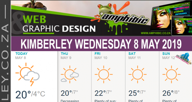 Today in Kimberley South Africa - Weather News Events 2019/05/08