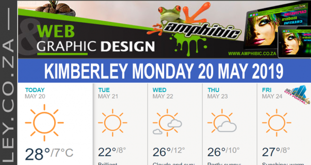 Today in Kimberley South Africa - Weather News Events 2019/05/20