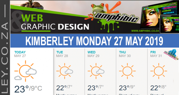 Today in Kimberley South Africa - Weather News Events 2019/05/27