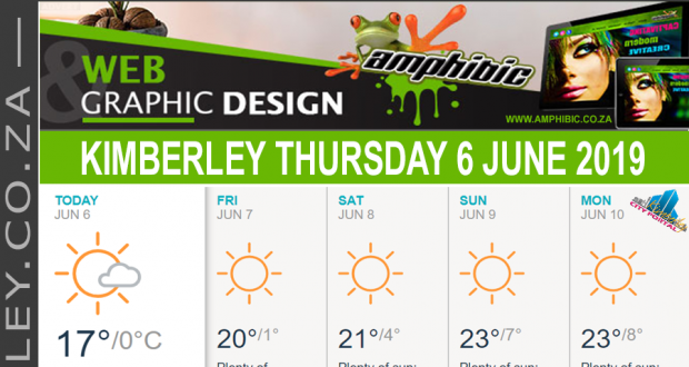 Today in Kimberley South Africa - Weather News Events 2019/06/06
