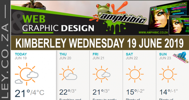 Today in Kimberley South Africa - Weather News Events 2019/06/19