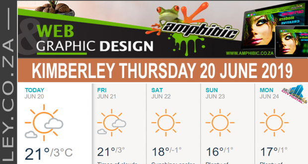 Today in Kimberley South Africa - Weather News Events 2019/06/20