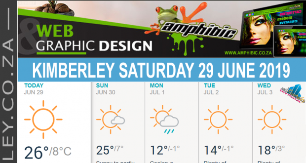 Today in Kimberley South Africa - Weather News Events 2019/06/29