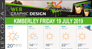 Today in Kimberley South Africa - Weather News Events 2019/07/19