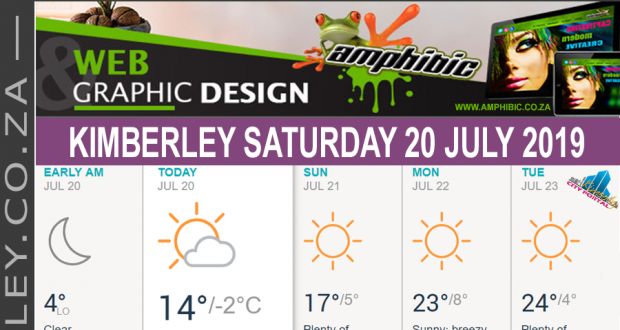 Today in Kimberley South Africa - Weather News Events 2019/07/20