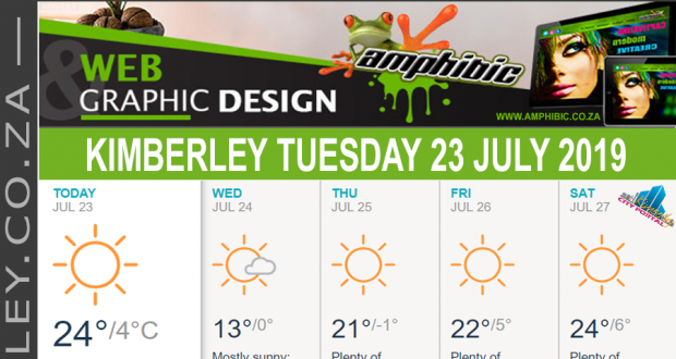 Today in Kimberley South Africa - Weather News Events 2019/07/23