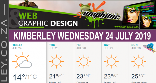 Today in Kimberley South Africa - Weather News Events 2019/07/24