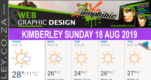 Today in Kimberley South Africa - Weather News Events 2019/08/18