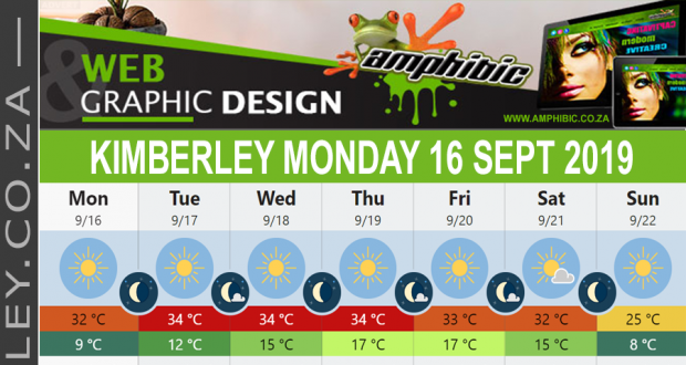 Today in Kimberley South Africa - Weather News Events 2019/09/16
