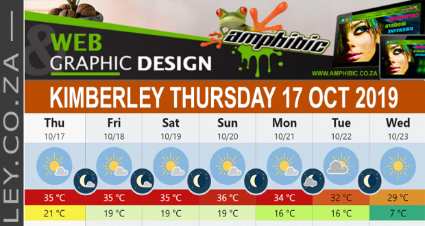 Today in Kimberley South Africa - Weather News Events 2019/10/17