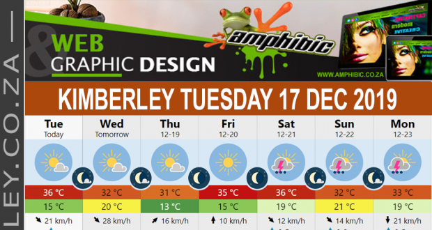 Today in Kimberley South Africa - Weather News Events 2019/12/17