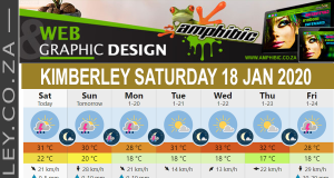 Today in Kimberley South Africa - Weather News Events 2020/01/18