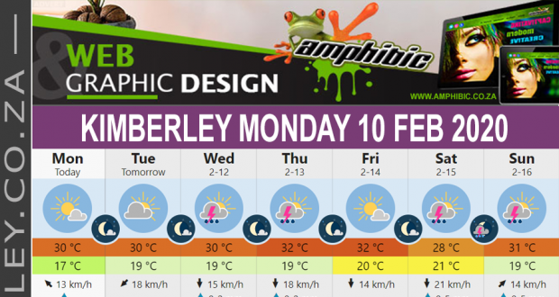 Today in Kimberley South Africa - Weather News Events 2020/02/10