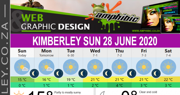 Today in Kimberley South Africa - Weather News Events 2020/06/17Today in Kimberley South Africa - Weather News Events 2020/06/28