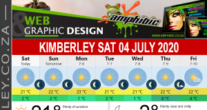 Today in Kimberley South Africa - Weather News Events 2020/06/17Today in Kimberley South Africa - Weather News Events 2020/07/04