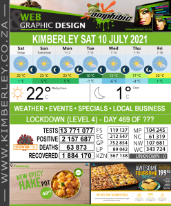 Today in Kimberley South Africa - Weather News Events 2021/07/10